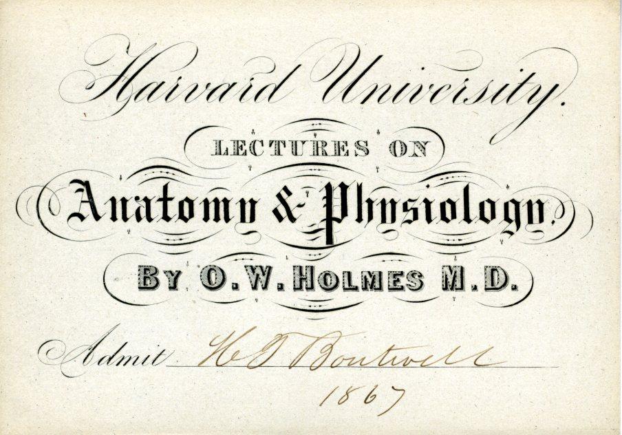 Oliver Wendell Holmes, Sr., M.D.