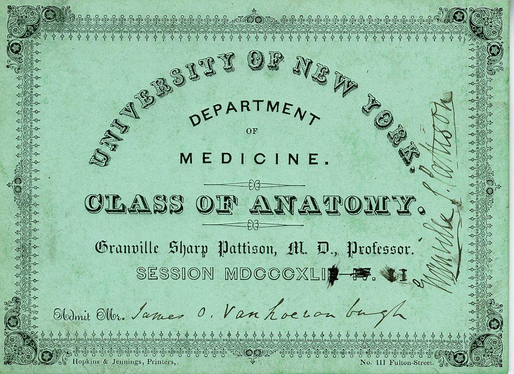 Granville Sharp Pattison, M.D.