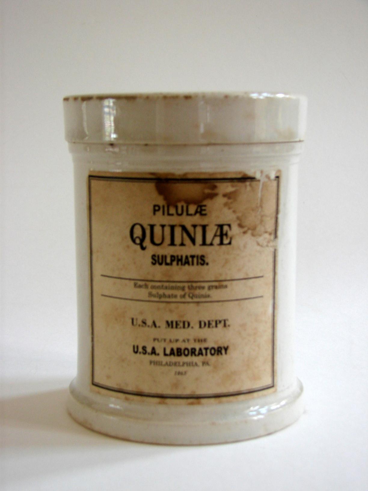 Civil War Medicine Bottle, Tin, & Jar Collection