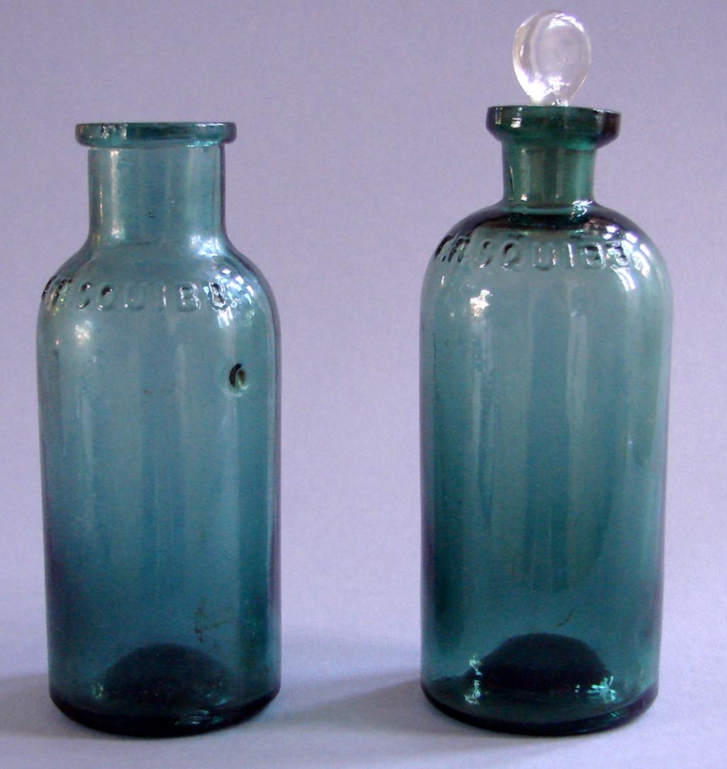 Medicine: Civil War Medicine Containers: Bottles, Jars, Tins